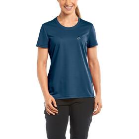 Maier Sports Waltraud Naiset Lyhythihainen paita , sininen